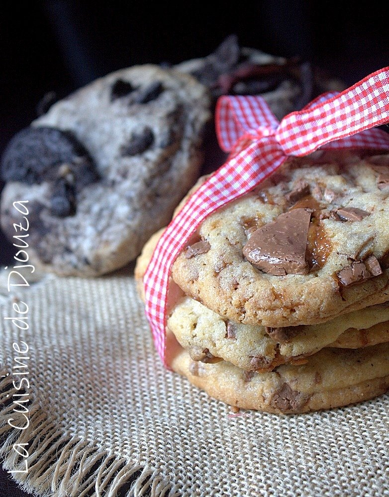 Cookies oreo et daim
