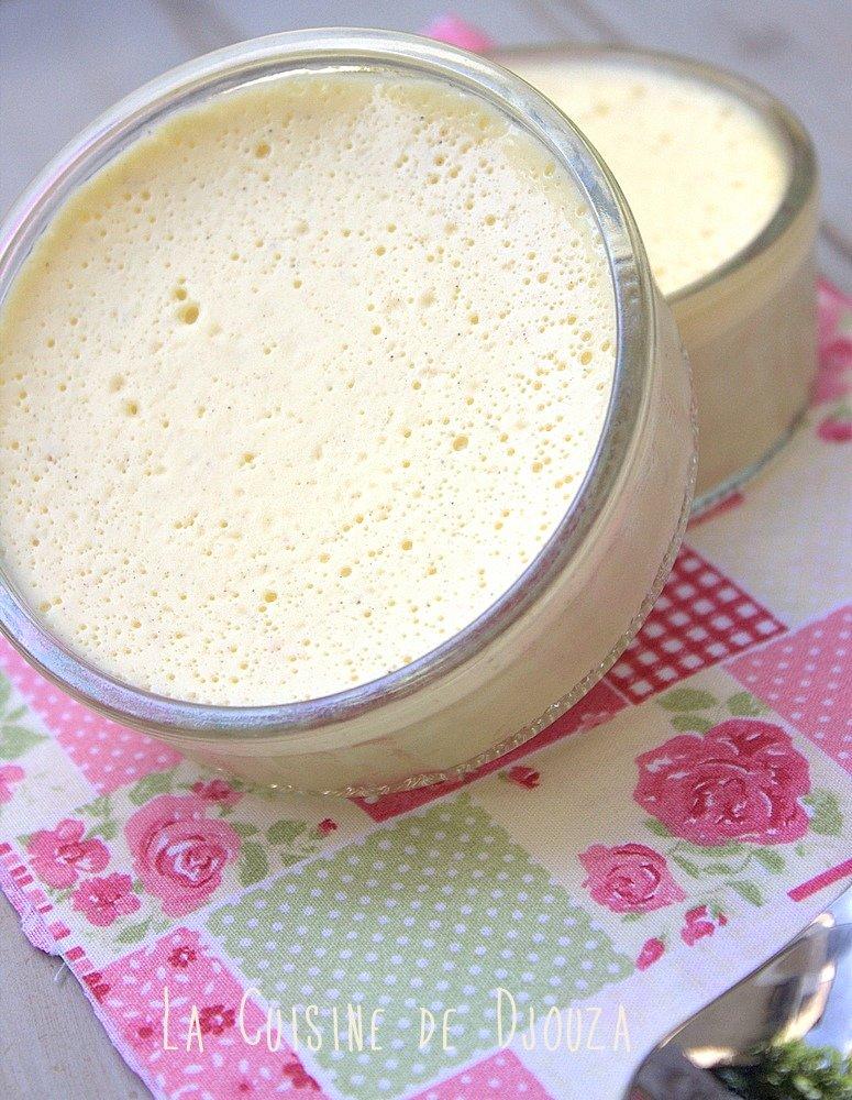 Petite crème onctueuse vanille et jasmin