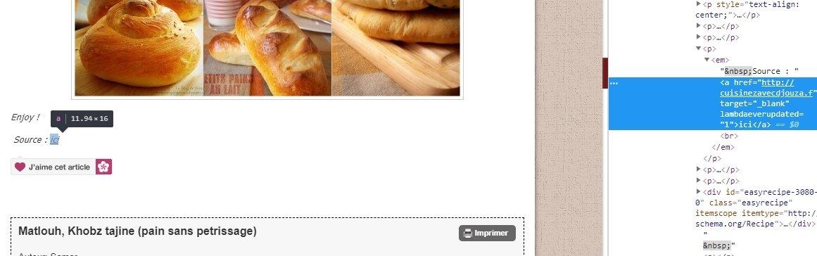 Mes inspirations culinaires plagiat des recettes