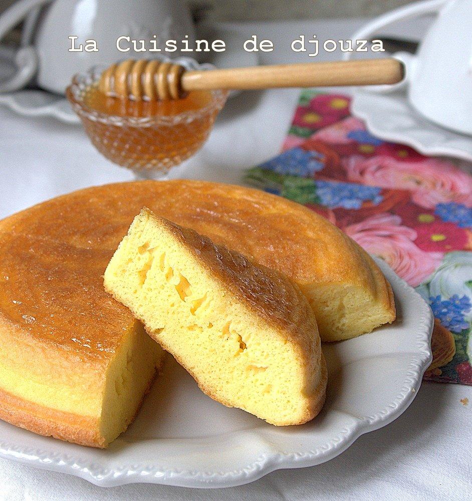 galette ou omelette kabyle au miel