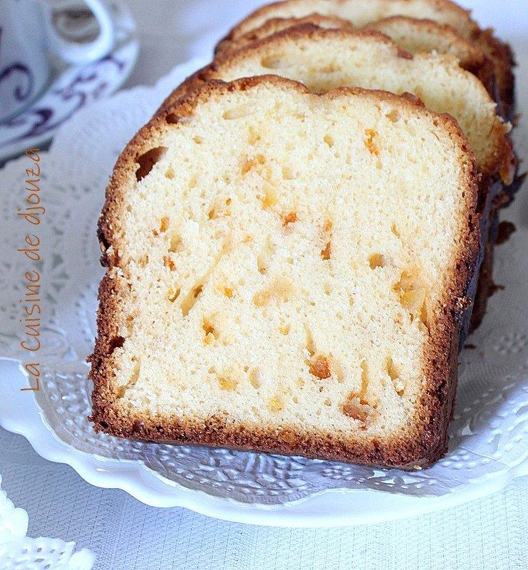 cake inratable aux oranges confites