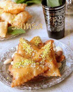 Samsa pâte maison aux amandes