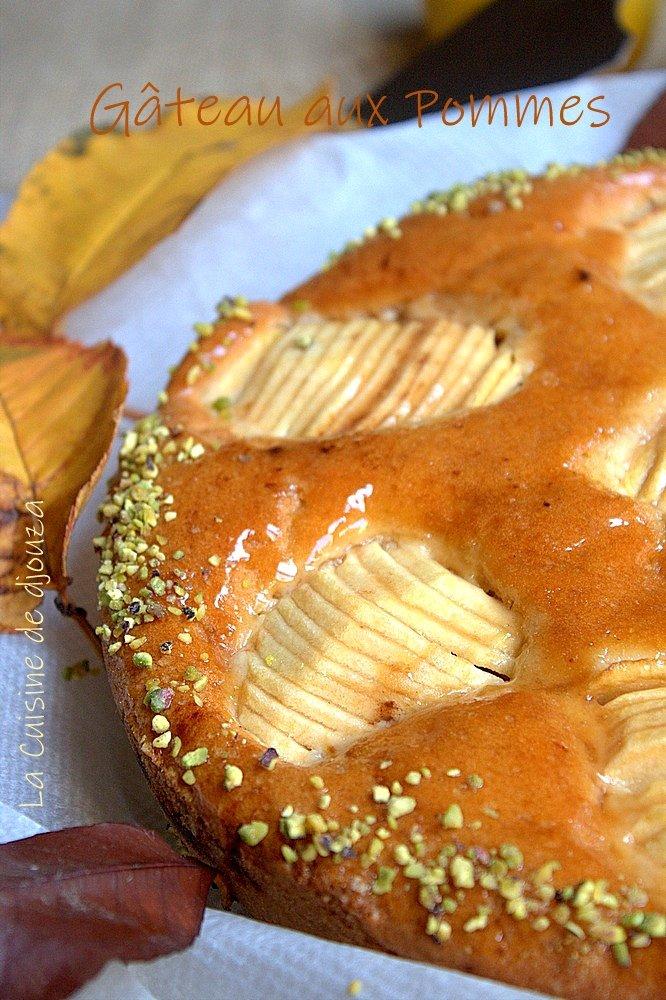 Gâteau aux pommes de l'automne
