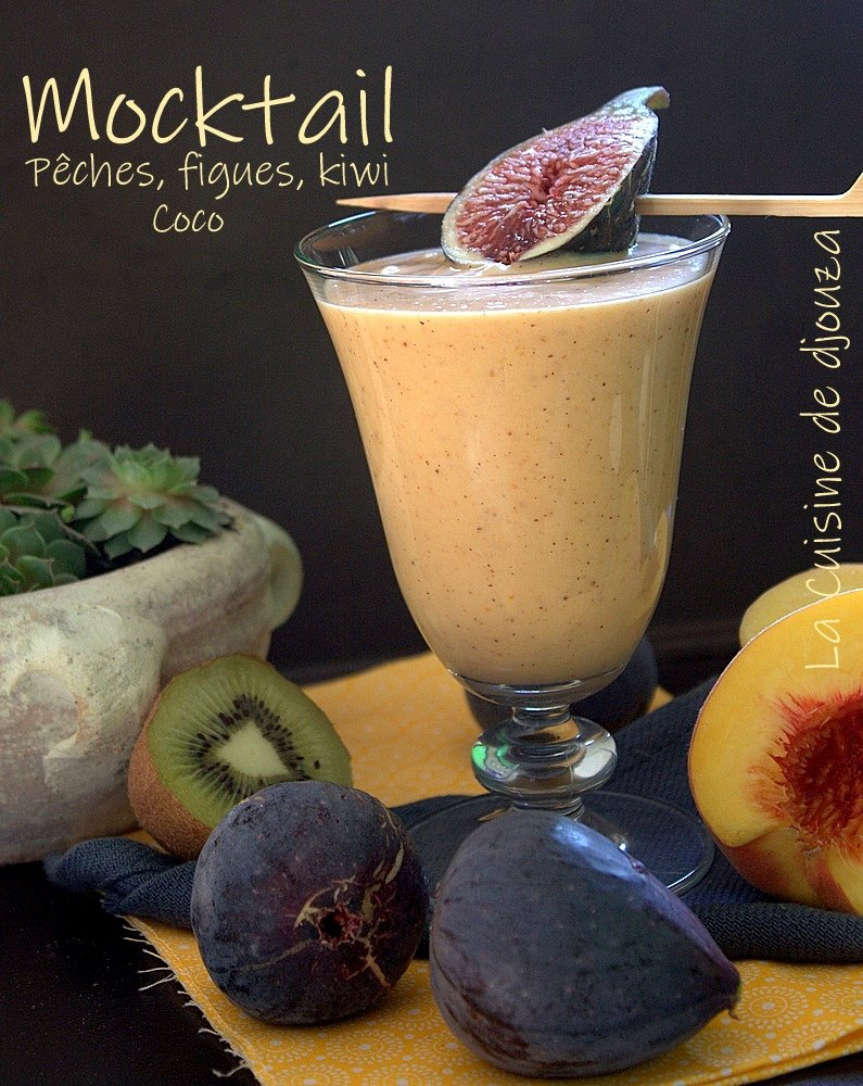 Mocktail de fruits frais sans alcool