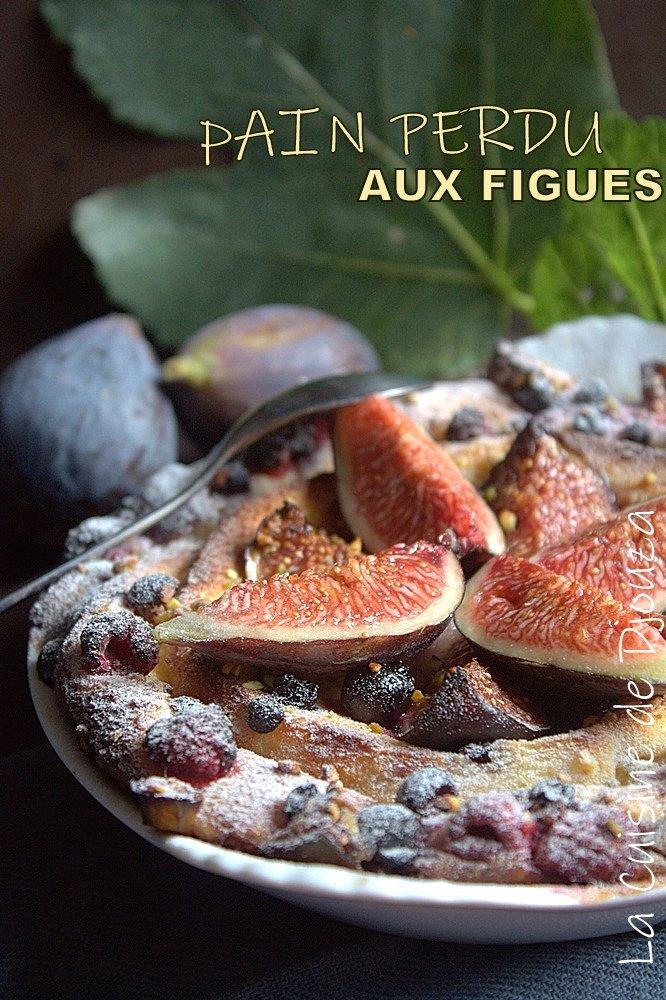Recette de pain perdu aux fruits au four