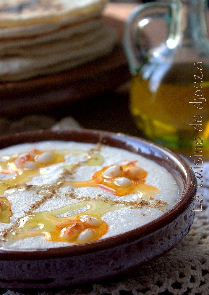 Purée de haricots blancs au fromage philadelphia (façon houmous)