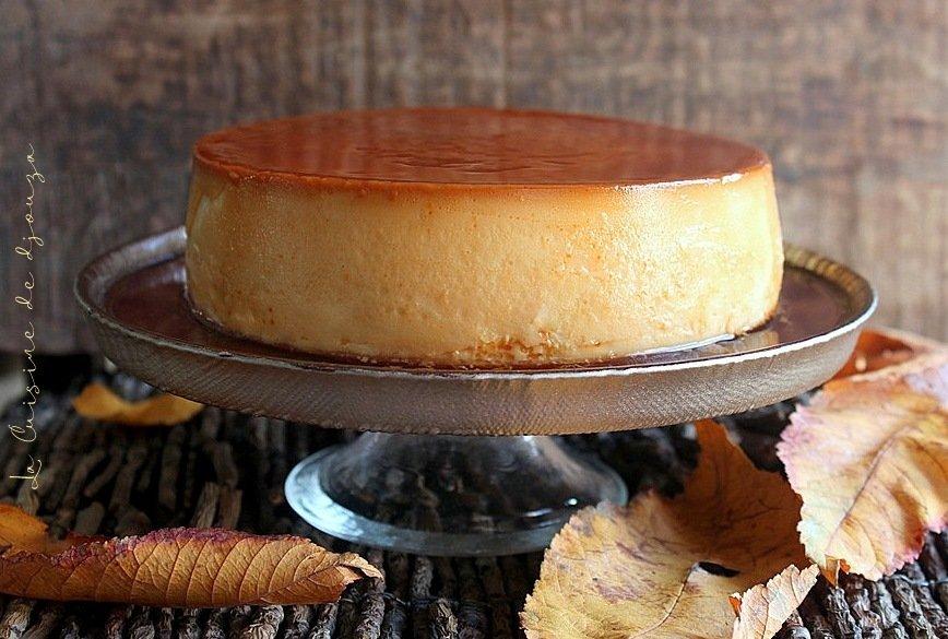 Crème caramel renversée ou crème aux oeufs