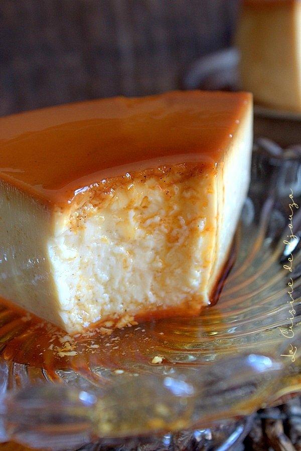 crème aux oeufs ou crème caramel