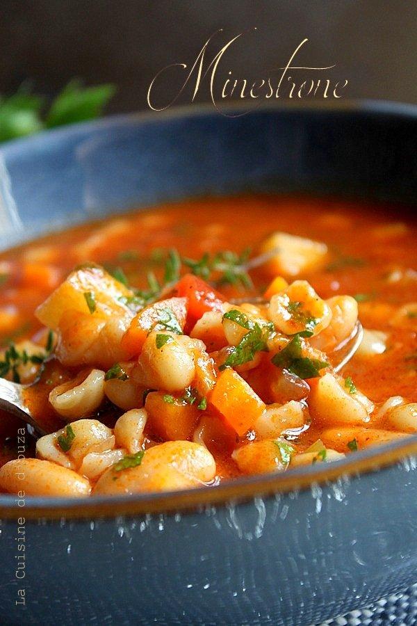 soupe de pâte italienne