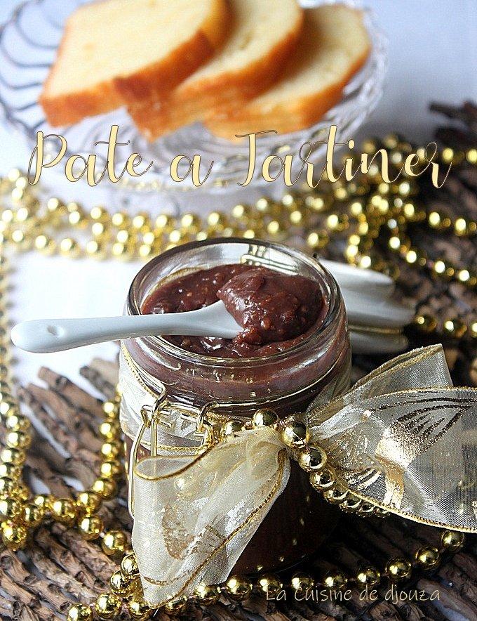 pâte à tartiner au chocolat noisettes de C Michalak