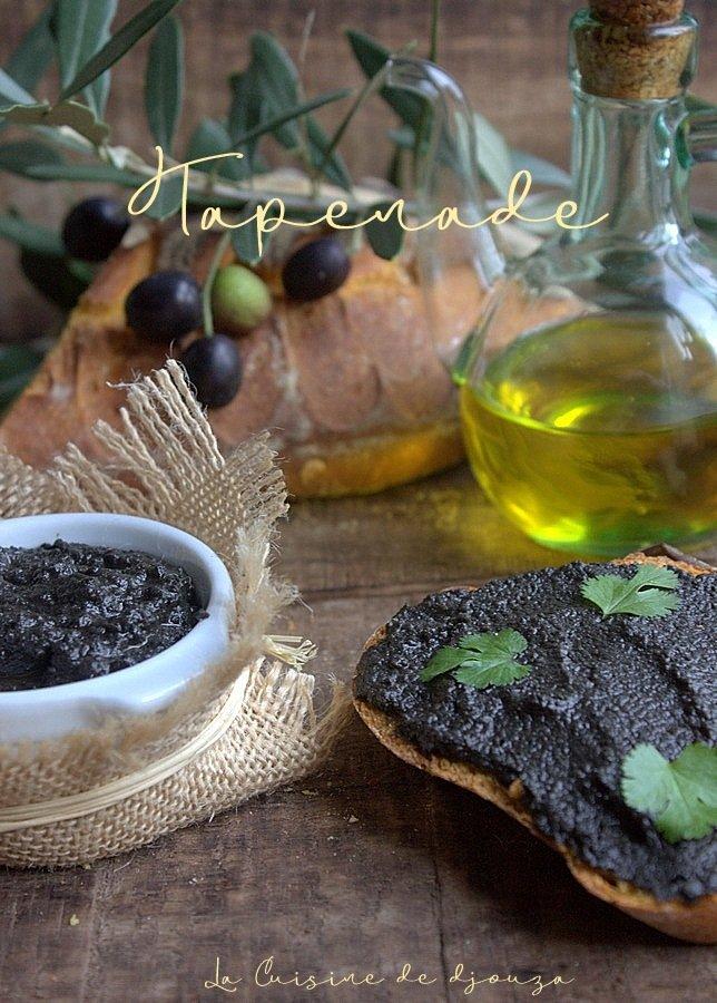 purée d'olives noires à la provençale