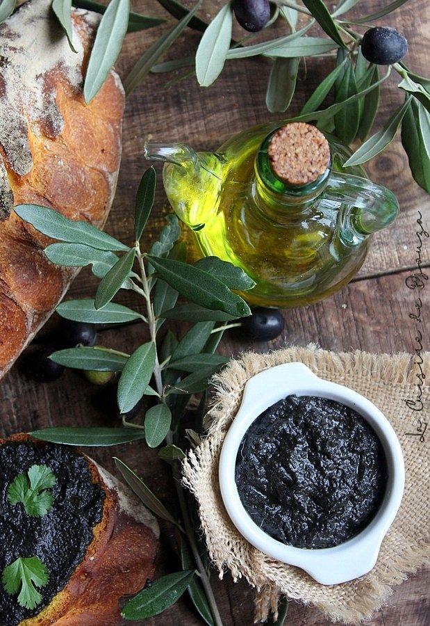 tapenade provençale aux olives noires