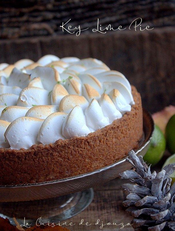 Key lime pie, tarte aux citrons verts