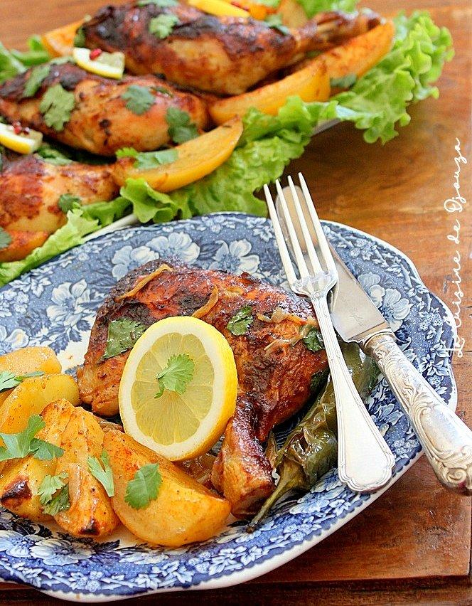 Recette cuisses de poulet au four (miel et moutarde)