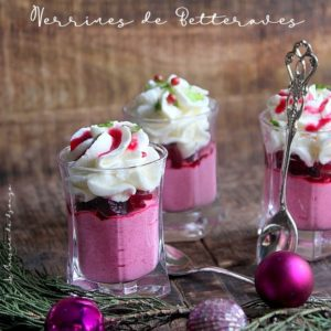 Mousse de betterave au mascarpone