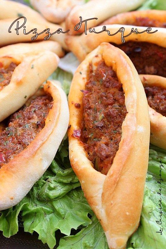 Pizza turque à la viande