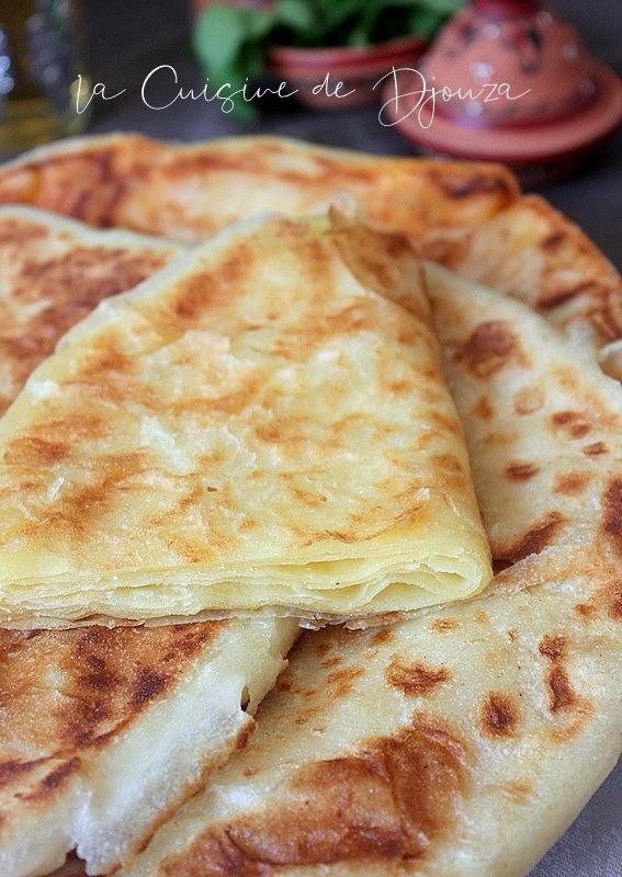 Pâtes à mssemen facile pour galette multi feuilletée