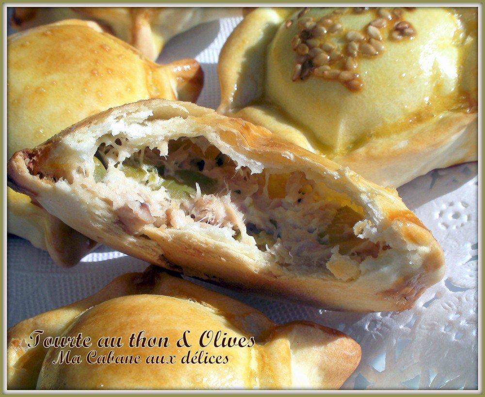 mini tourtelettes au thon et aux olives