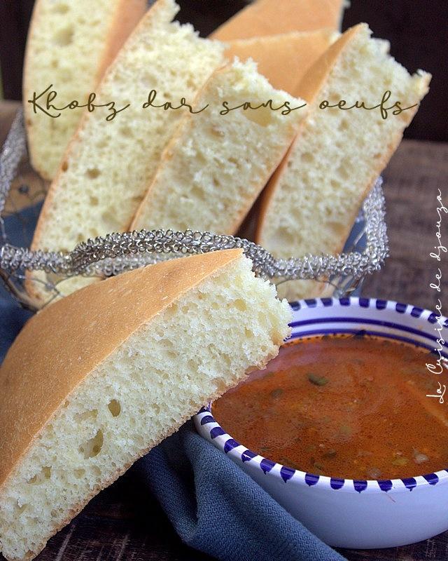 pain sans oeuf d'algérie