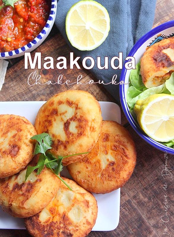 Maakouda galette de pommes de terre a la chakchouka