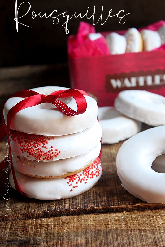 Rousquille biscuit fondant de la catalogne