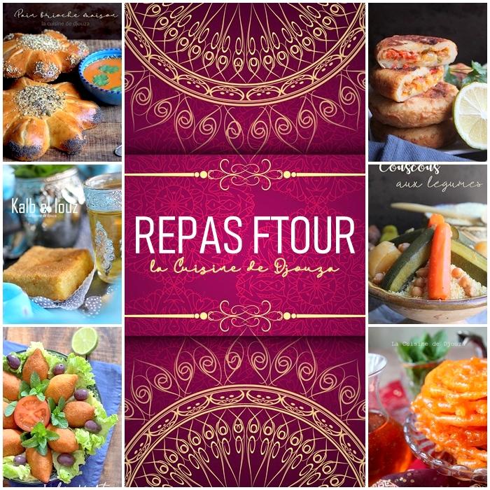 Recettes repas du ftour ramadan 2019