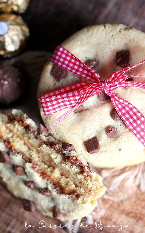 cookies fourrés comme starbucks café