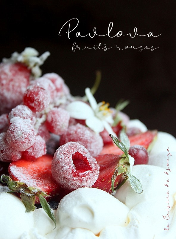 Recette de la Pavlova aux fruits rouges