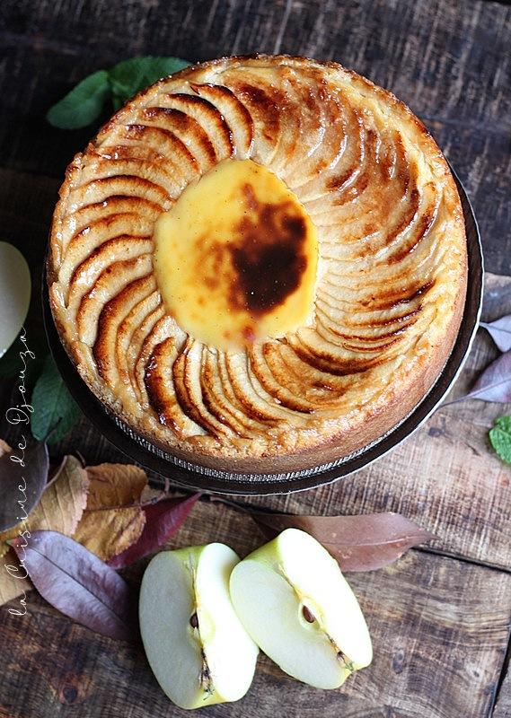 Flan patissier aux pommes