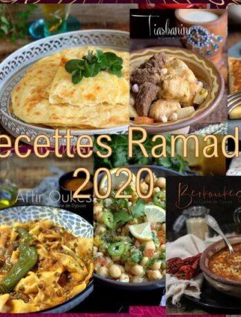 Recettes ramadan 2020 pour vous aider