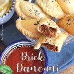 Brick tunisennei au four, recette tunisienne