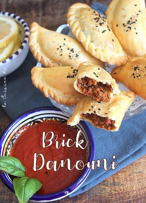 Brick danouni au four, recette tunisienne