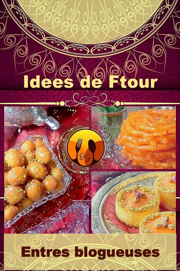 Idees de ftor ramadan entre blogueuses