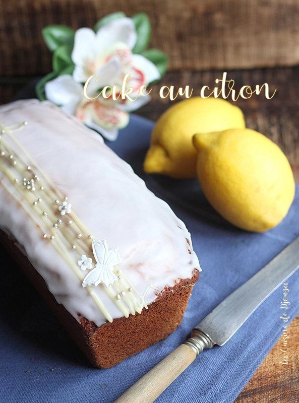 Recette de cake citron ultra moelleux