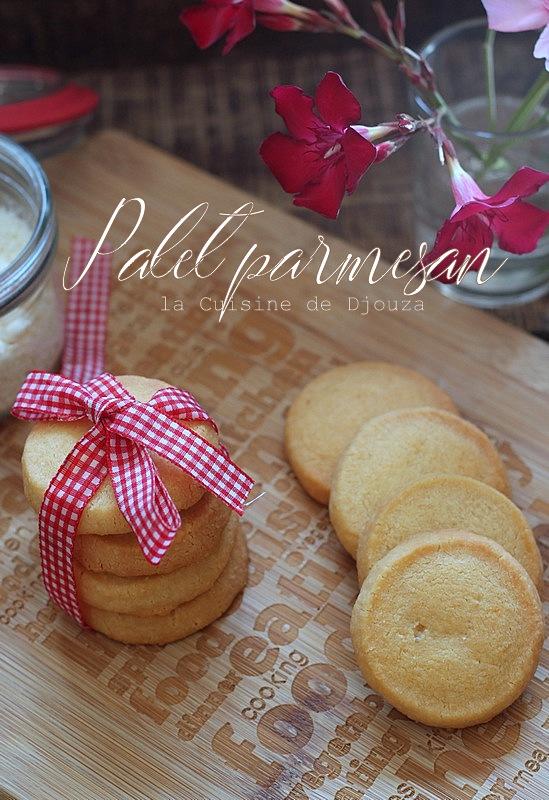 Palet sablé au parmesan et fleur de sel