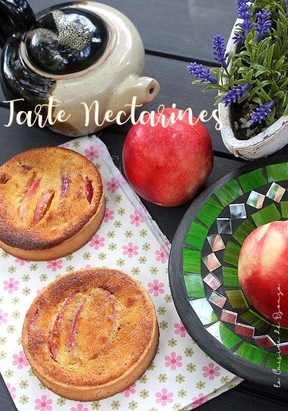 tartelettes gourmandes aux nectarines