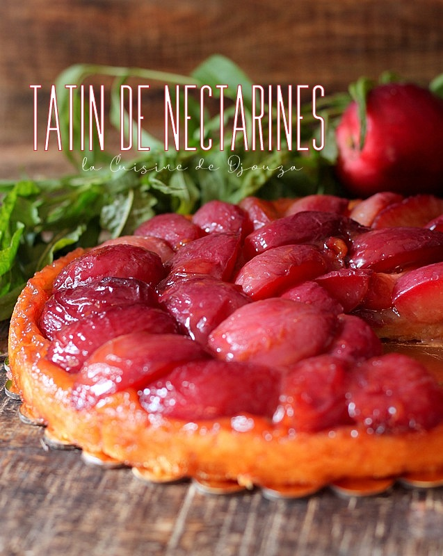 Tatin recette aux nectarines