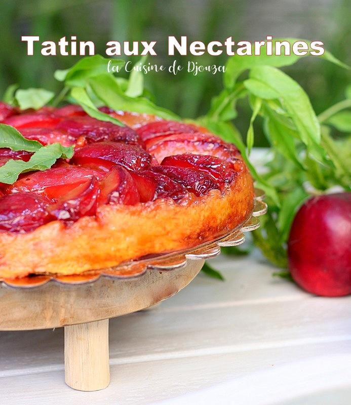 tarte renversée nectarine