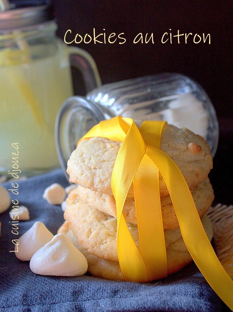 Cookies citron meringué