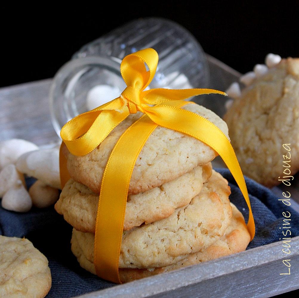 Recette de cookies citron meringué