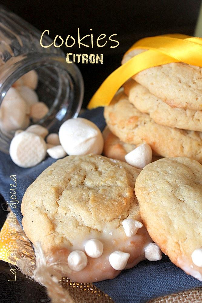 Recette cookies citron meringué