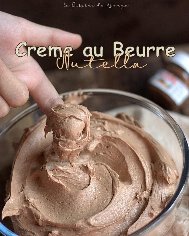 Creme Nutella au beurre facile