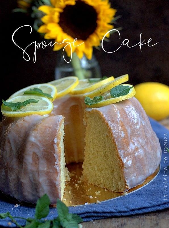 Recette gateau sponge cake ou gateau éponge facile