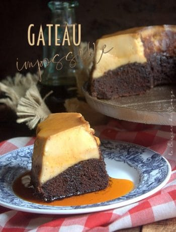 Gateau impossible au caramel (chocoflan)