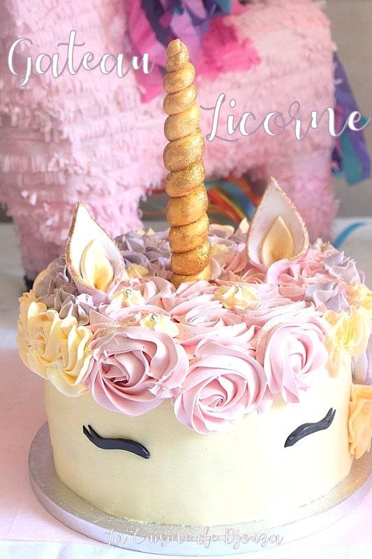 Molly cake pour gâteau licorne