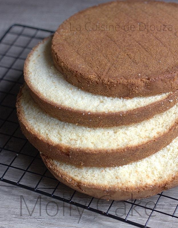 Gateau molly cake à étages