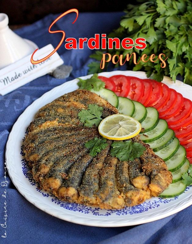 Sardines grillées à la poele