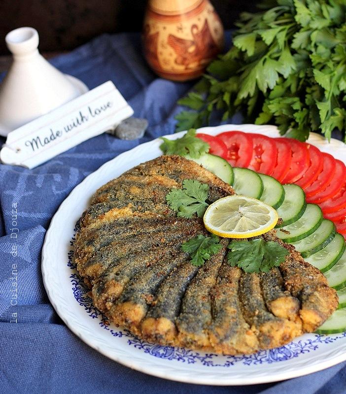 Sardines fraîches grillées à la poêle