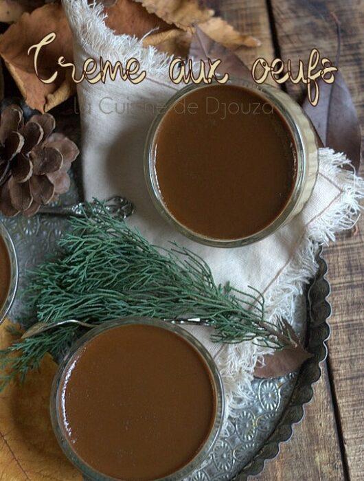 Recette crème aux oeufs au café