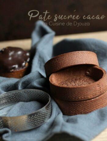 Pâte sucrée au chocolat de Christophe Felder